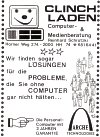 CLINCH-Laden Werbung 1988
